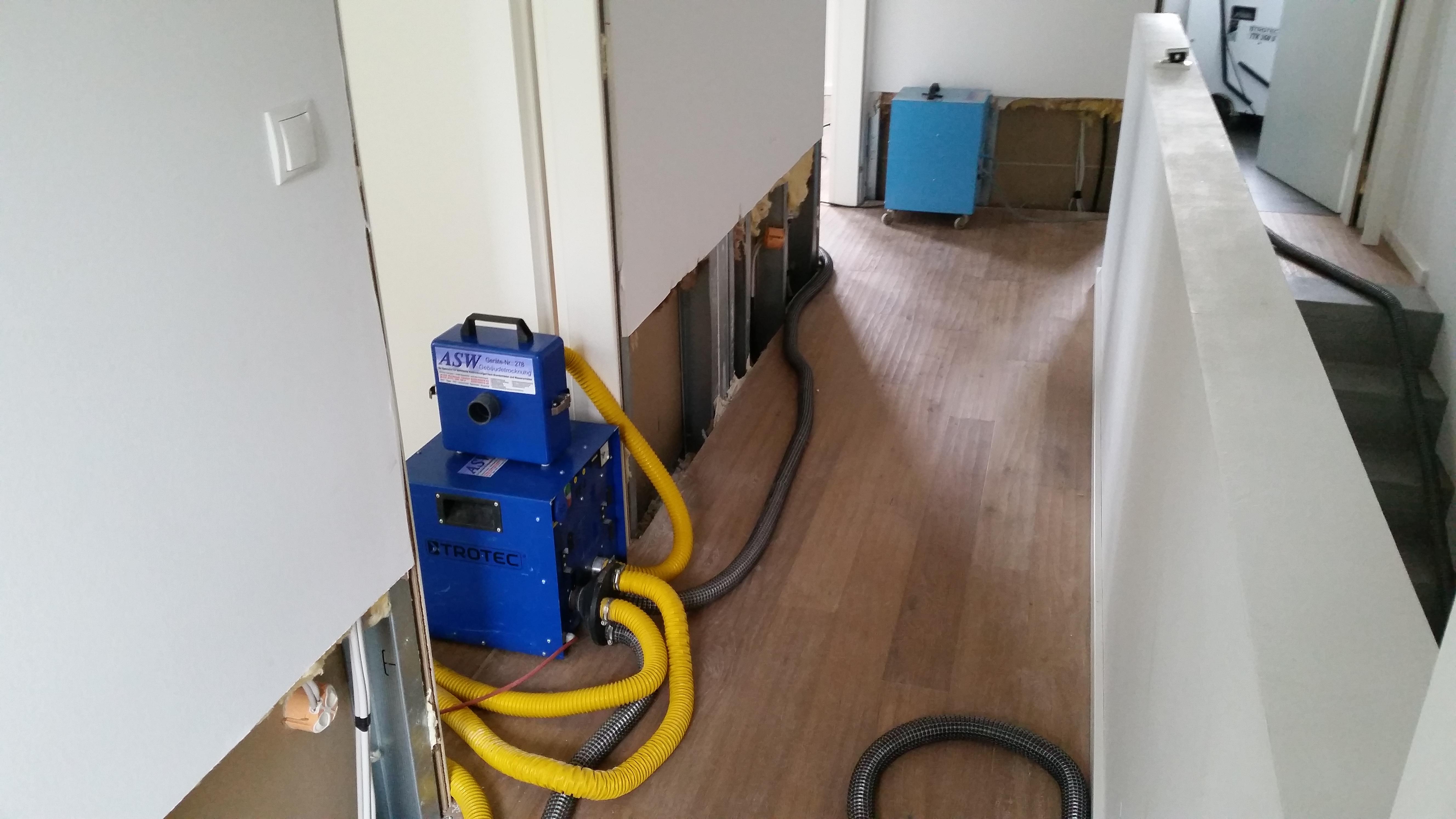 Sehr Gebäudetrocknung Bautrocknung Rohrbruchortung – ASW Gebäudetrocknung ZU45